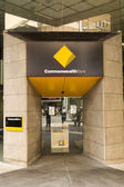 Commonwealth Bank is a financial institution. — Stock Photo