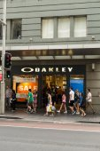 The Oakley store — Stock Photo