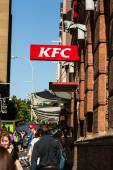 KFC restaurant on Georges Street, Sydney — Stock Photo