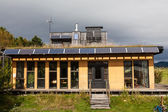Habitat 07, an eco house — Stock Photo