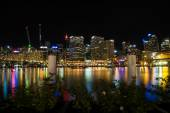 Sydney Darling Harbour at night. — Stock Photo