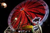 Ferris wheel at Sydney vivid festival — Stock Photo