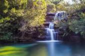 Waterfall long exposure — Stock Photo