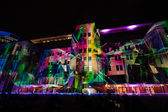 Sydney contemporary museum of Arts on Vivid festival 2015 — Stock Photo