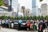 Ground Zero Memorial — Stock Photo