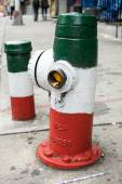 Fire Hydrant in little Italy — Stock Photo
