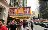 McDonald's on Times Square — Stock Photo