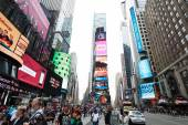Times Square on day time — Stock Photo