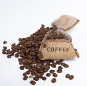 Coffee bag — Stock Photo