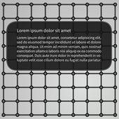 Metal wire  industrial background — Stock Vector