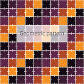 Seamless pattern with squares — Stock Vector
