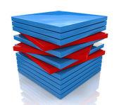 Bundle cube — Stock Photo