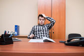 Office worker. — Stock Photo