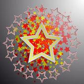 星 — ストックベクタ