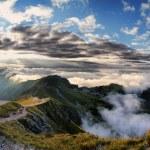 Beautiful panorama of Tatra Mountains, Świnica — Stock Photo #53873683