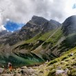 Beautiful panorama of Tatra Mountains, Świnica — Stock Photo #53873691