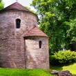Romanesque Rotunda on Castle Hill in Cieszyn, Poland — Stock Photo #53875007