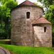 Romanesque Rotunda on Castle Hill in Cieszyn, Poland — Stock Photo #53875021