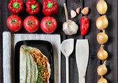 Burrito mexicano — Foto Stock
