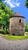 Romanesque Rotunda on Castle Hill in Cieszyn, Poland — Stock Photo