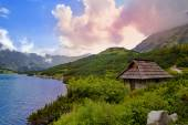 Beautiful view from Five Polish Ponds, Tatra — Stock Photo