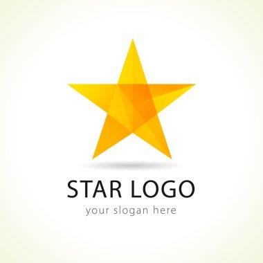 Vector star logo.
