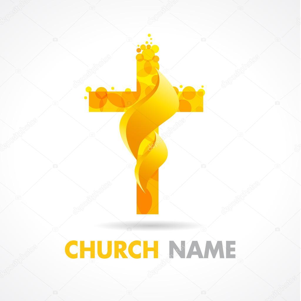 logotipo da igreja fogo � vetor de stock 169 koltukovalek