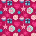 Seamless Christmas background — Stock Vector #53834959