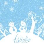 Winter background — Stock Vector #53836913