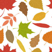 Seamless autumn pattern.  — Stock Vector