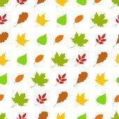 Dikişsiz sonbahar desen. — Stok Vektör