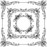 Vintage ornate frames. — Stock Vector #54974083