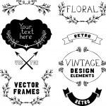 Vintage design elements — Stock Vector #54975861