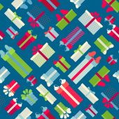 Seamless festive pattern. — Stock Vector