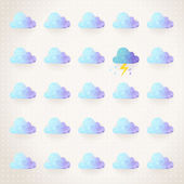 Weather pattern. — Stock Vector