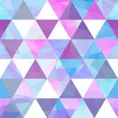 Sömlös geometrisk bakgrund. — Stockvektor