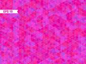 Fondo rosa geométrica — Vector de stock