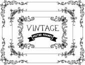 Calligraphic vintage frames — Stockvektor
