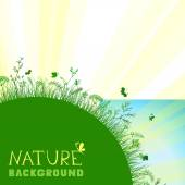 Nature background — Stock Vector