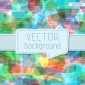 Speech bubbles background. — Stock Vector
