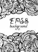 Doodles background.  — Stock Vector
