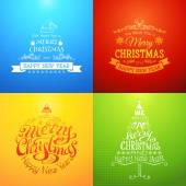 I Wish You A Merry Christmas And Happy New Year. — Stock Vector