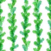 Seamless evergreen pattern.  — Stock Vector