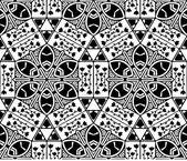 Seamless nature geometric pattern.  — Stock Vector