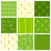 Set of seamless nature patterns.  — Stock Vector