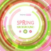 Abstract spring background. — Stock Vector
