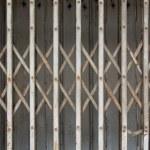 Rust fold steel door — Stock Photo #59764431