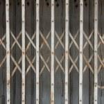 Rust fold steel door — Stock Photo #59764433
