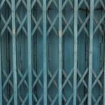Rust fold steel door — Stock Photo #64885119