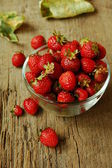 Fresh juicy strawberries — Stock Photo